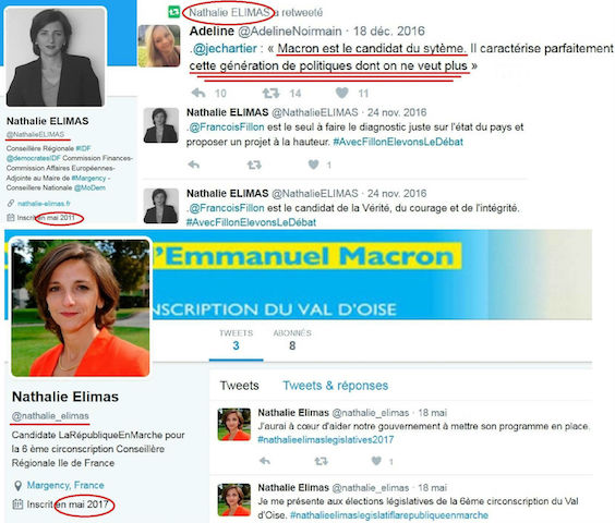 Twiitter Nathalie Elimas Macron 7