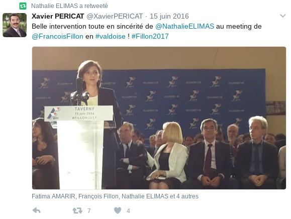 Twiitter Nathalie Elimas Fillon Macron 4 bis